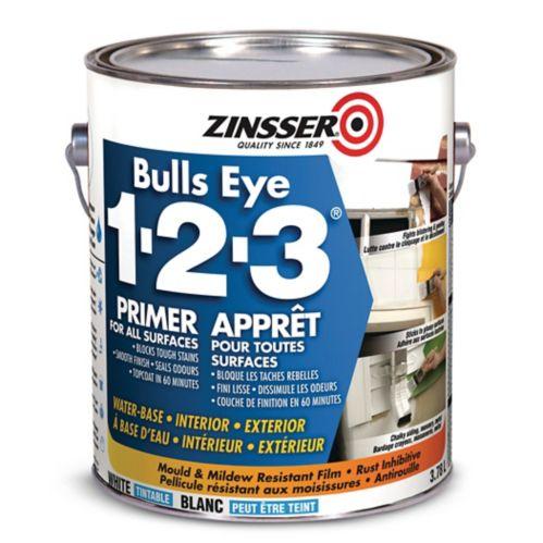 Zinsser Bulls Eye 1.2.3. Primer Sealer, 3.78-L Product image