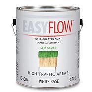 Easyflow Interior Latex Paint, Semi-Gloss