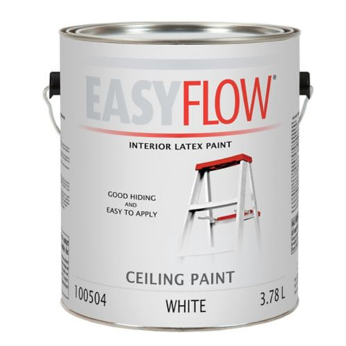 Easyflow Latex Paint, Ceiling, 3.7 L Product image