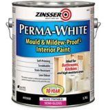 Zinsser Mould & Mildew Interior Latex Paint, Semi-Gloss, 3.7-L | Zinssernull