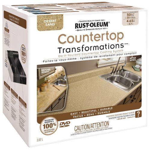 Countertop Transformations Rust-Oleum Image de l'article