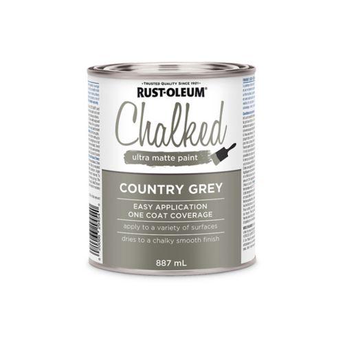 Peinture à la craie ultra-matte Rust-Oleum, 946 ml