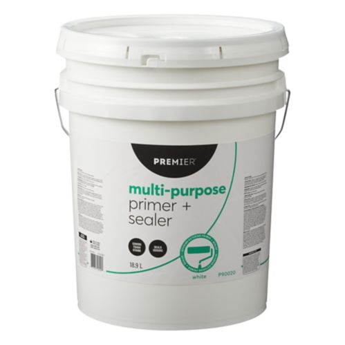 Premier Multi-Purpose Primer & Sealer, White, 18.9-L