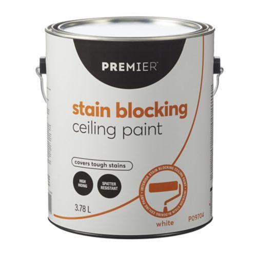 Premier Stain Blocking Ceiling Paint, White, 3.78-L Product image