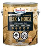 Thompson's WaterSeal Deck & House Waterproofing Stain, Pre-Mixed Oil Hybrid Solid, 3.54-L | Thompson'snull