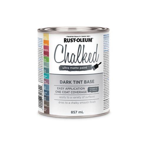 Rust-Oleum Chalked Ultra Matte Paint Dark Tint Base, 857-mL Product image
