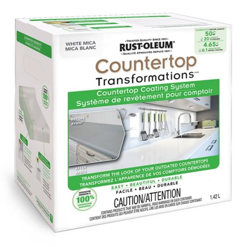 Rust-Oleum Countertop Transformations, White Mica, 1.42-L Kit Product image