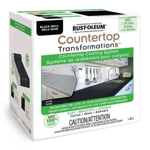 Rust-Oleum Countertop Transformations, Black Mica, 1.42-L Kit Product image