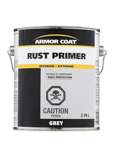 Armor Coat Rust Primer, Grey, 3.78-L