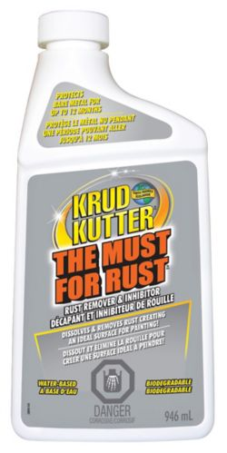 Krud Kutter The Must For Rust Liquid Rust Remover