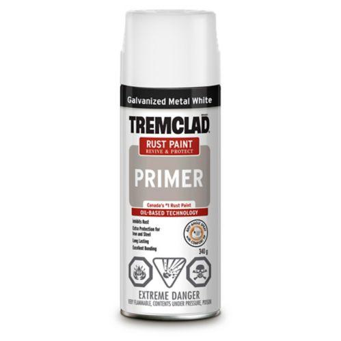 Apprêt Tremclad pour métal galvanisé, blanc Image de l'article