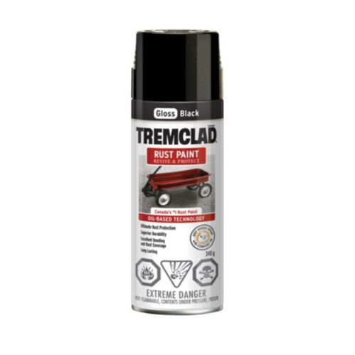 Tremclad Rust Paint, Gloss Aerosol, 340-g Product image