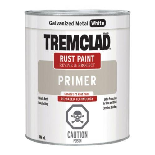 Tremclad Primer, Galvanized Metal White, 946-mL
