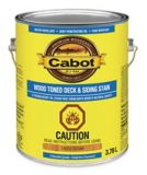 Cabot Wood Toned Deck & Siding Stain, 3.78-L | Cabotnull