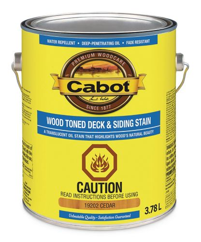 Cabot Wood Toned Deck & Siding Stain, 3.78-L Product image