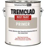 Apprêt antirouille Tremclad, métal galvanisé, blanc, 3,78 mL | Tremcladnull