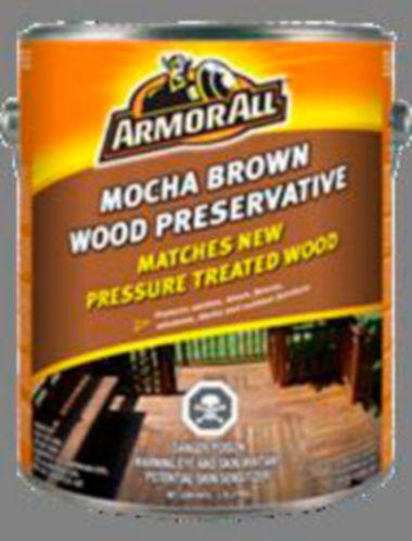 Agent de conservation pour bois brun Armor All Mocha, 3,78 L