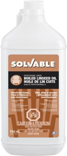 Solvable Boiled Linseed Oil Product image