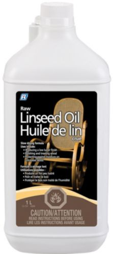 Recochem Linseed Oil Raw, 1-L