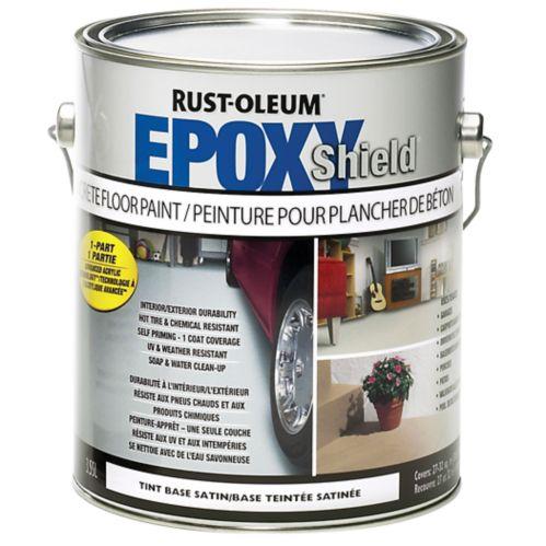 Base à teinter Rust-Oleum Epoxyshield plancher béton, 3,78 L Image de l'article