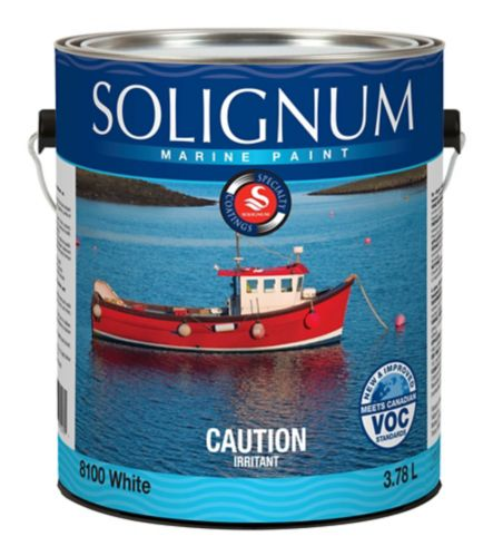 Marine Paint, High-Gloss, 3.78-L