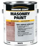 Armor Coat 3.7 L White Acrylic Latex Masonry Paint | Armor Coatnull