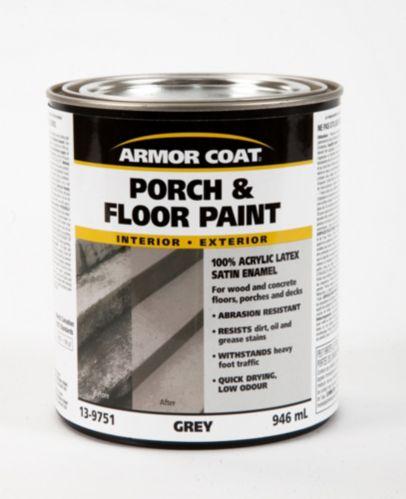 Peinture pour galeries et planchers Armor Coat, gris, 946 ml Image de l'article