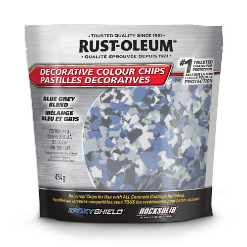 Pastilles décoratives Rust-Oleum Epoxyshield, 454 g Image de l'article