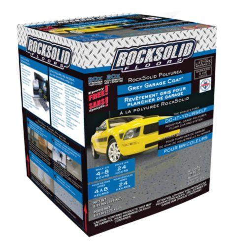 Rock Solid Floors Polyurea Grey Garage Coat Kit, 3.75 kg Product image