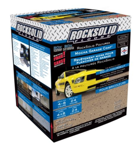 Rock Solid Floors Polyurea Mocha Garage Coat Kit, 3.75 kg Product image