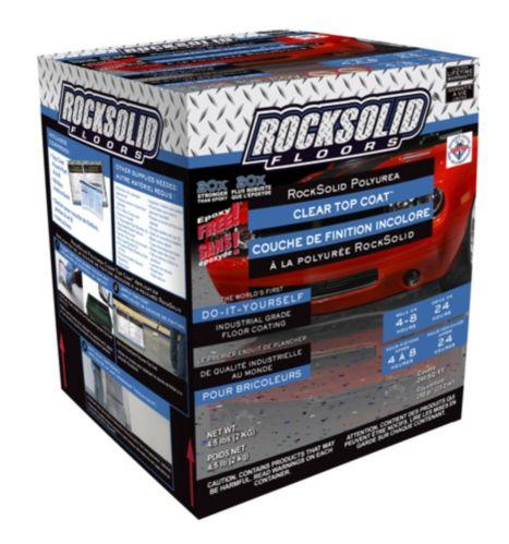 Apprêt à polyurée Rock Solid, incolore, 3,75 kg