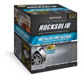 Rust-Oleum RockSolid Metallic Floor Coating Kit, Silver Bullet, 2.07-L | Rust-Oleumnull