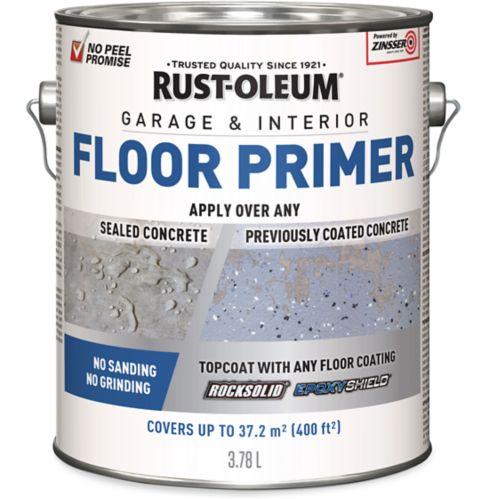 Apprêt pour collage de plancher de garage ultime, Rust-Oleum RockSolid, 3,78 L