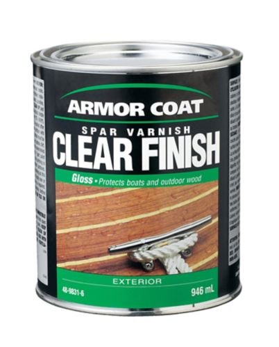 Armor Coat Exterior Spar Varnish, Gloss, 946-mL
