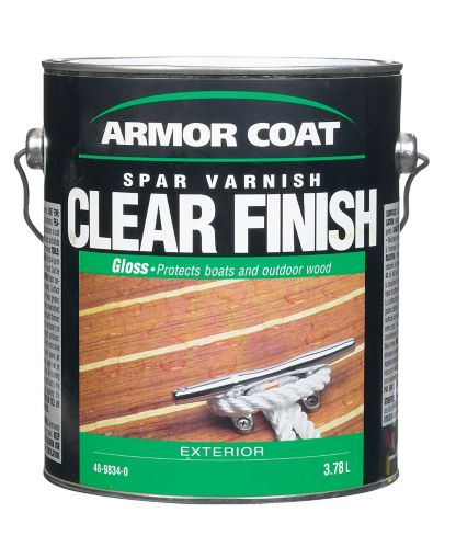Armor Coat Exterior Spar Varnish, Gloss, 1-Gallon Product image
