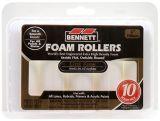 Expert Lint Free Foam Trim Rollers, 4-in, 10-pk | Bennettnull