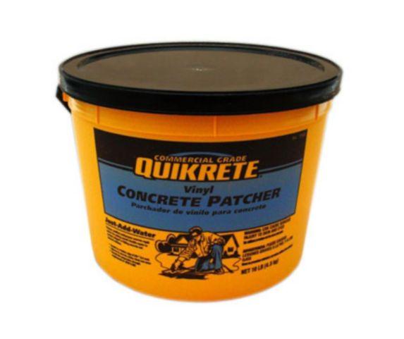 Bouche-fentes en vinyle pour béton Quikrete, qualité commerciale, 4,5 kg