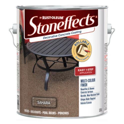 Revêtement de béton décoratif Rust-Oleum Stoneffects, 3,78 L Image de l'article