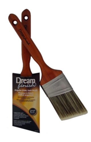 Dream Finish Polyester Angle Sash Oval Brush, 63 mm Product image