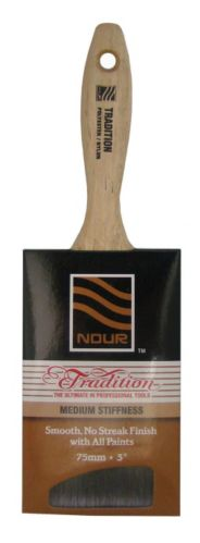 Nour Tradition Flat Sash Brush, 3-in Product image