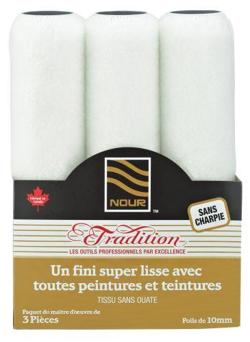 Manchons sans charpie Nour Tradition, 10 mm, paq. 3 Image de l'article