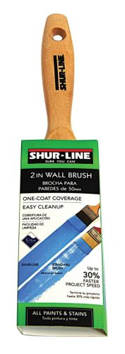 Shur-Line Teflon Angle Trim Brush, 2-in