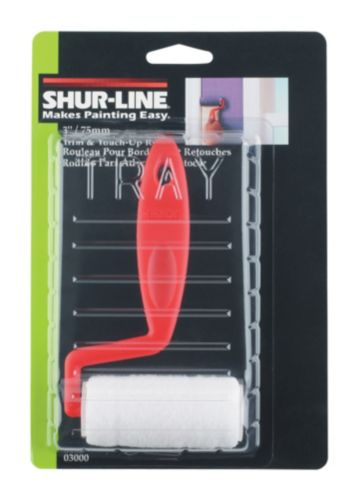 Shur-Line Trim & Touch Up Roller, 3-in