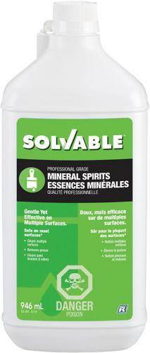 Essences minérales Solvable, 946 mL