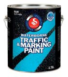 Blue Traffic Paint | Solignumnull