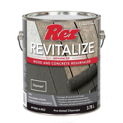 REZ Revitalize Wood & Concrete Resurfacer, Cityscape, 3.78-L Product image