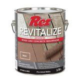 Resurfaceur pour bois et béton Rez Revitalize, moka, 3,78 L | REZnull