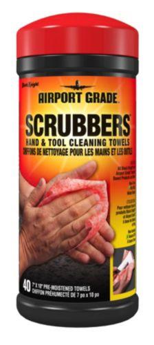 Chiffons de nettoyage pour mains et outils Black Knight Airport Grade, paq. 40 Image de l'article