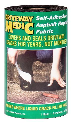 Tissu de réparation d'asphalte Driveway Medic Image de l'article