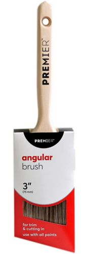 Premier Angular Paint Brush, 3-in